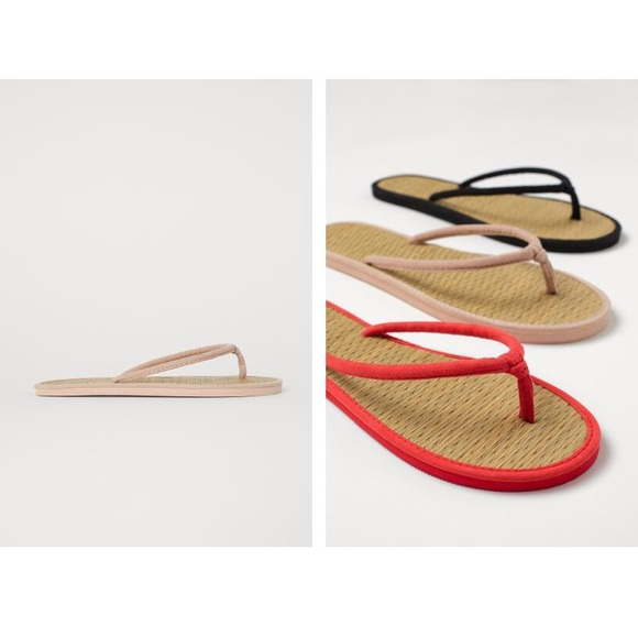 2564f8569 Bundle of Two Sandals with faux suede Straps